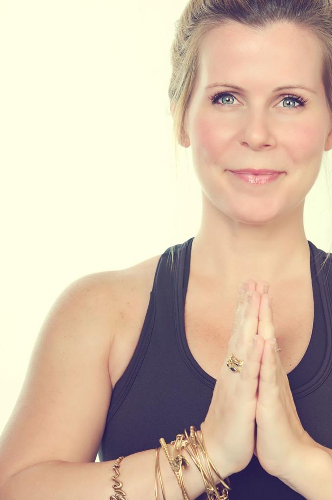 Casey Van Zandt, yoga teacher and executive coach/consultant.